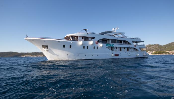 Deluxe navire de croisière MV Aquamarin