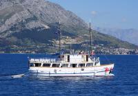 Navire de croisière traditionnel Dalmatinac