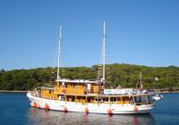 Navire de croisière traditionnel Kalipsa