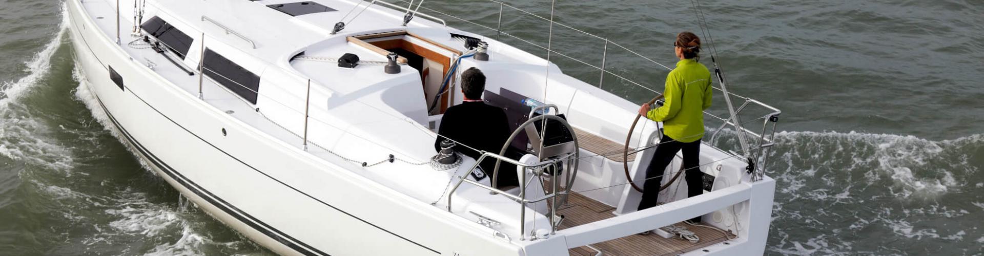 bateau à voile Hanse 375