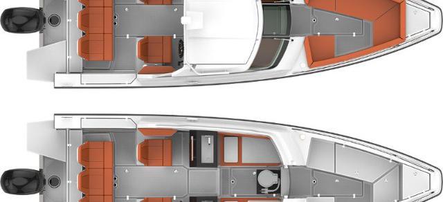 moteur bateau Axopar 24 HT