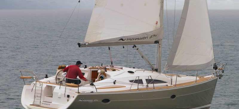 bateau à voile Elan 384 Impression