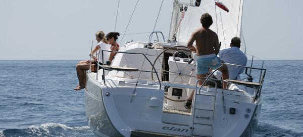 bateau à voile Elan 344 Impression