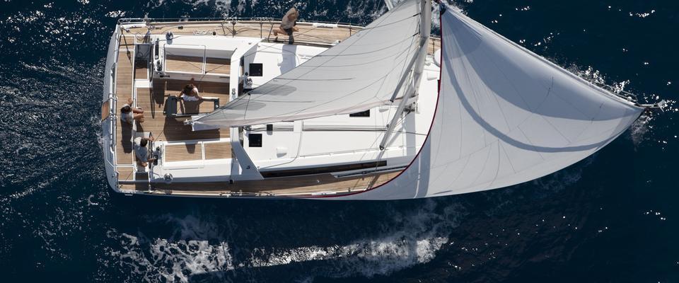 bateau à voile Oceanis 45 ( 3 cab.)