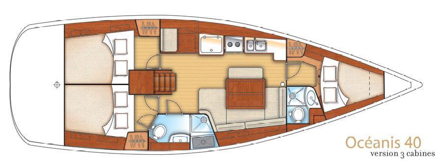 bateau à voile Oceanis 40