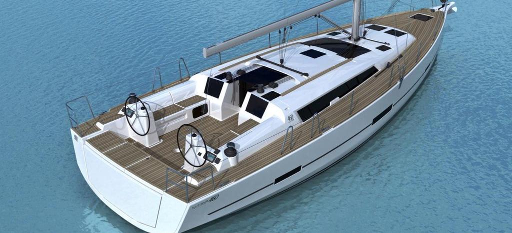 bateau à voile Dufour 460 GL
