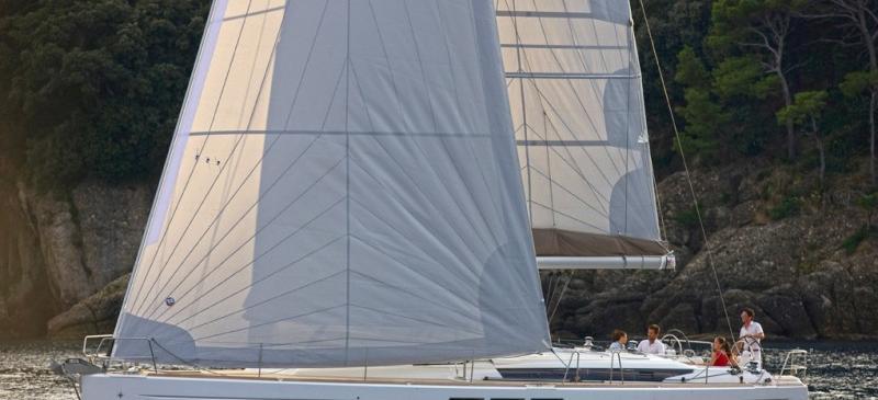 bateau à voile Sun Odyssey 519