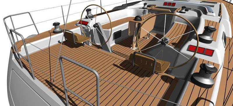 bateau à voile Dufour 525