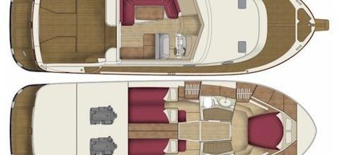 moteur bateau Adriana 44