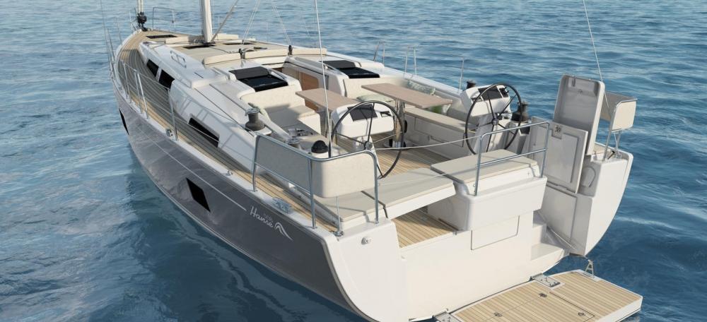 bateau à voile Hanse 508