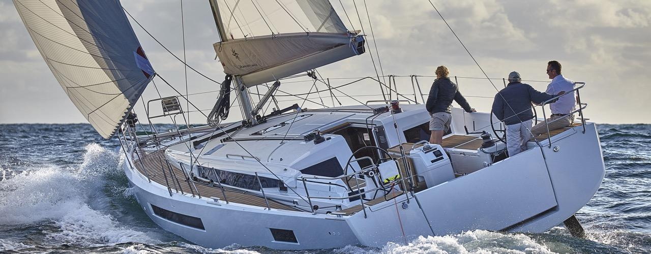 bateau à voile Sun Odyssey 490