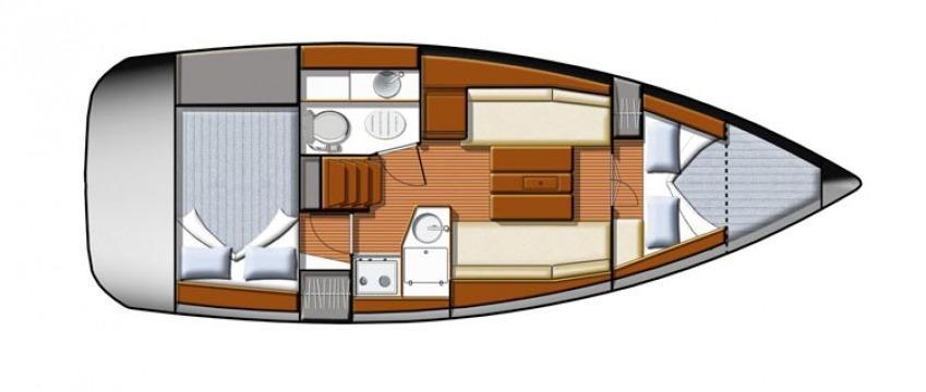 bateau à voile Sun Odyssey 30i