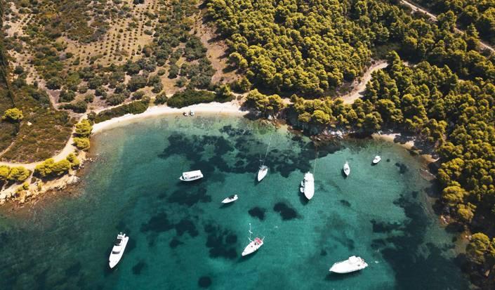 Un paradis parmi les pins, visite de la Côte-Est de Sithonia, Halkidiki