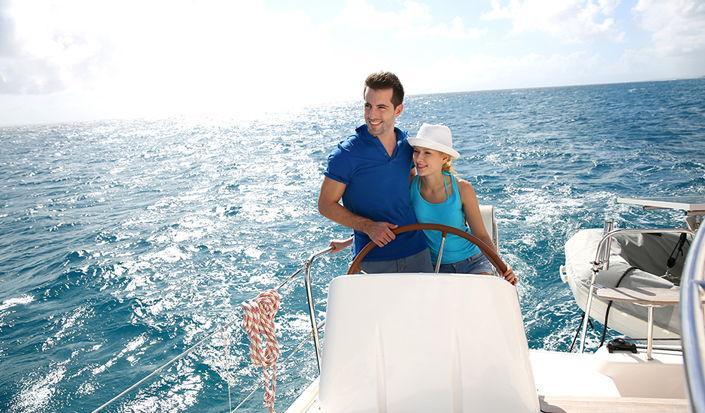 Romance sur un voilier