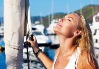 Se proteger du soleil pendant la navigation