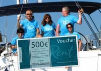 La gagnant du concours 2014  a gagné un bon d'achat de 500€ !