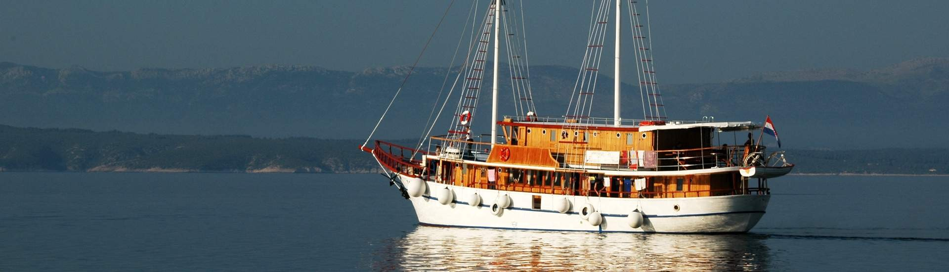 Croatia Gullets and motor sailers