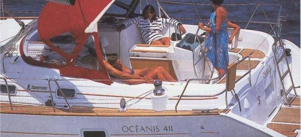 bateau à voile Oceanis 411
