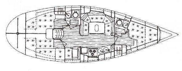 bateau à voile Elan 38