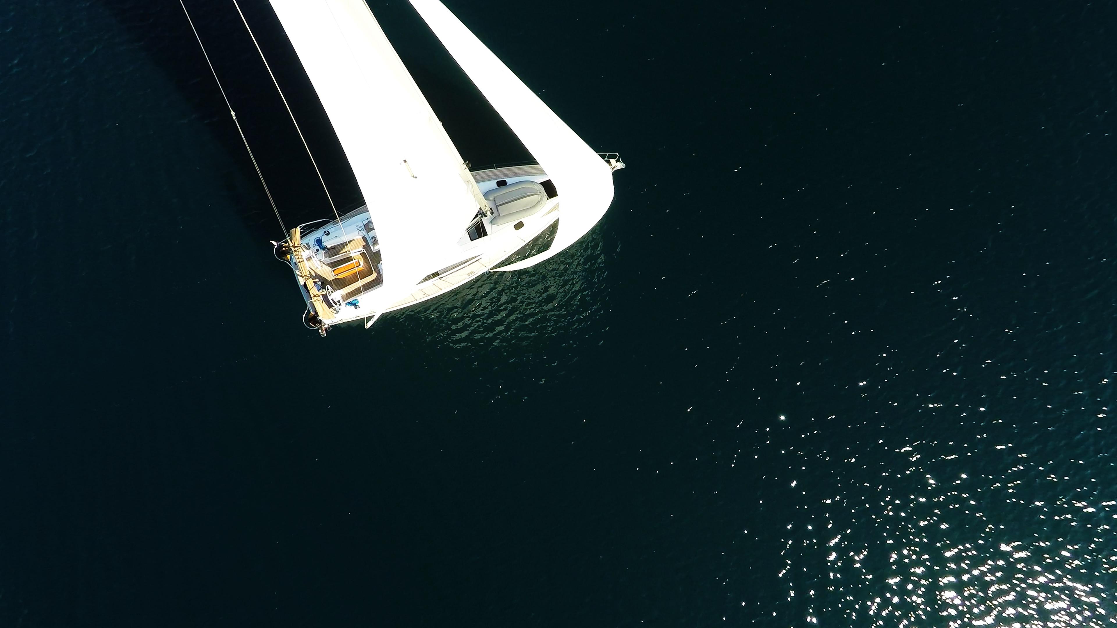 bateau à voile vue d'oimeru bateau à voile voiliers voiles
