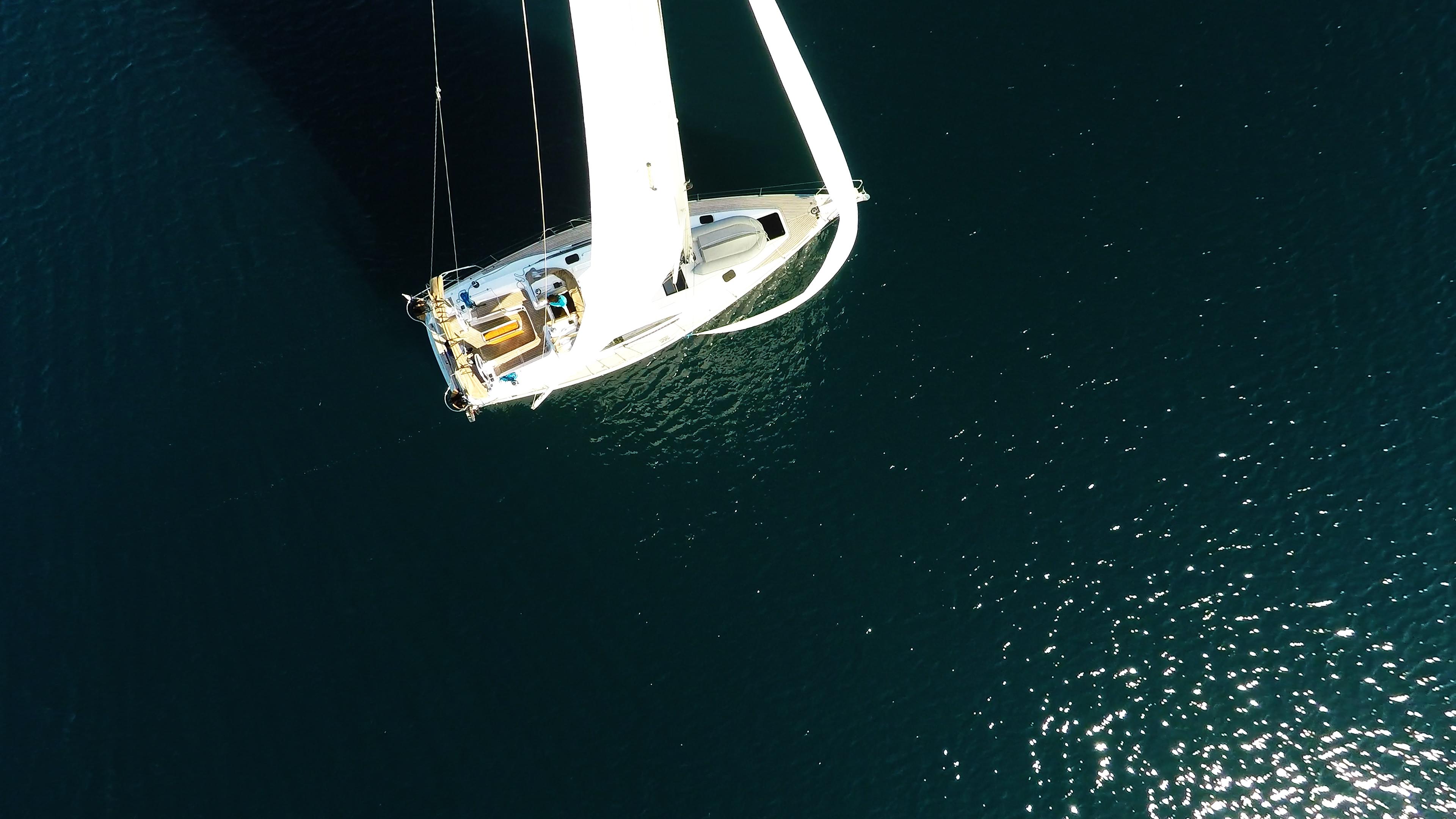 bateau à voile vue d'oimeru voiles bateau à voile voilier