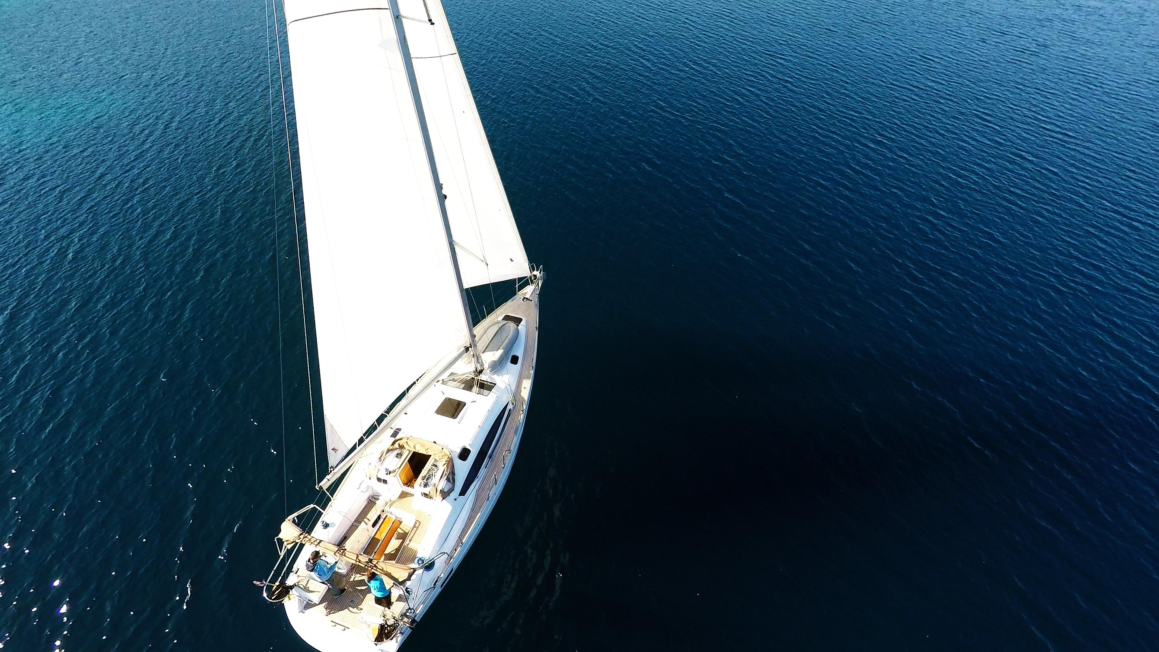 bateau à voile elan 45 impression voile voilier bateau à voile mer