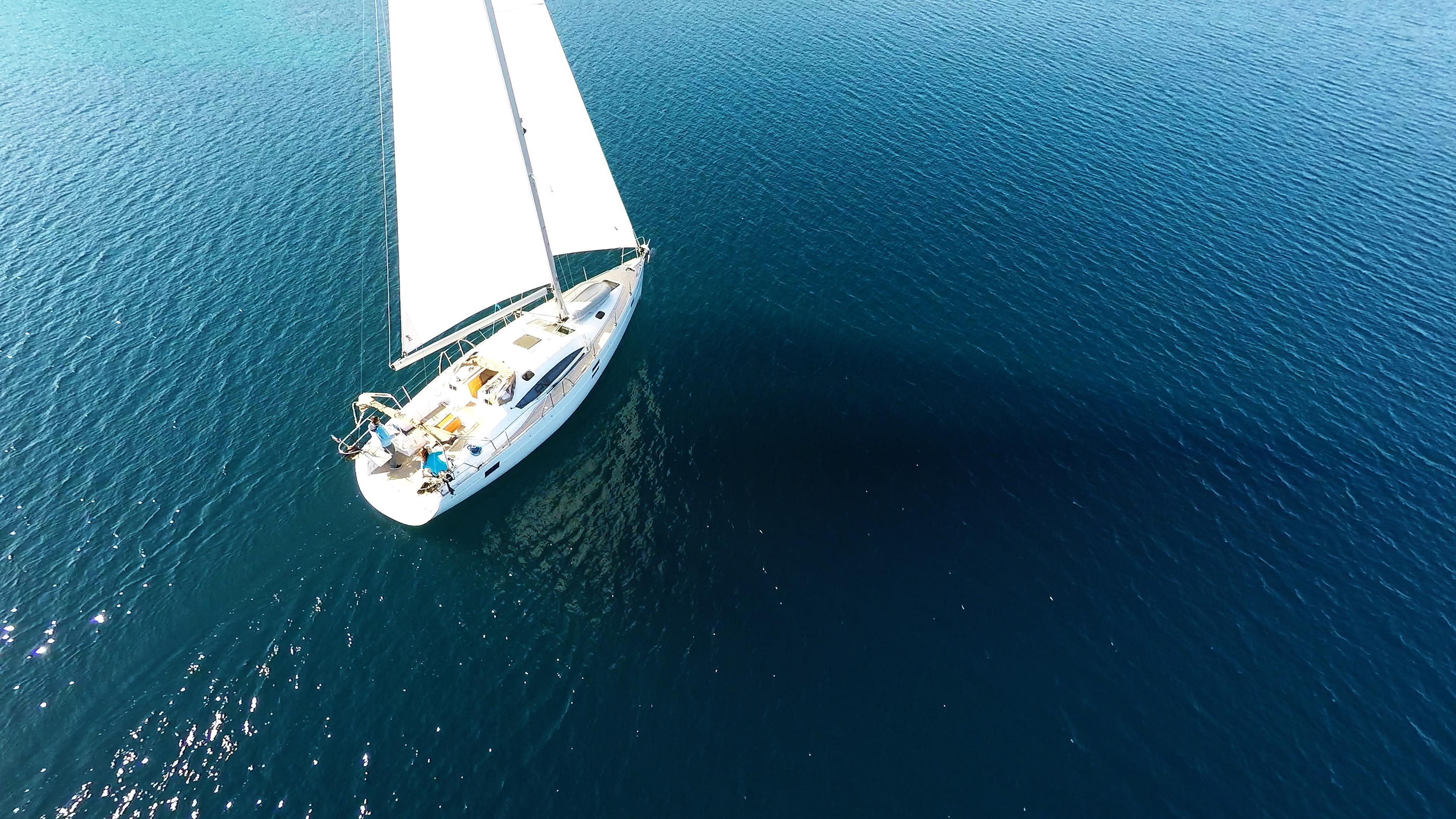 bateau à voile elan 45 impression bateau à voile charte voilier