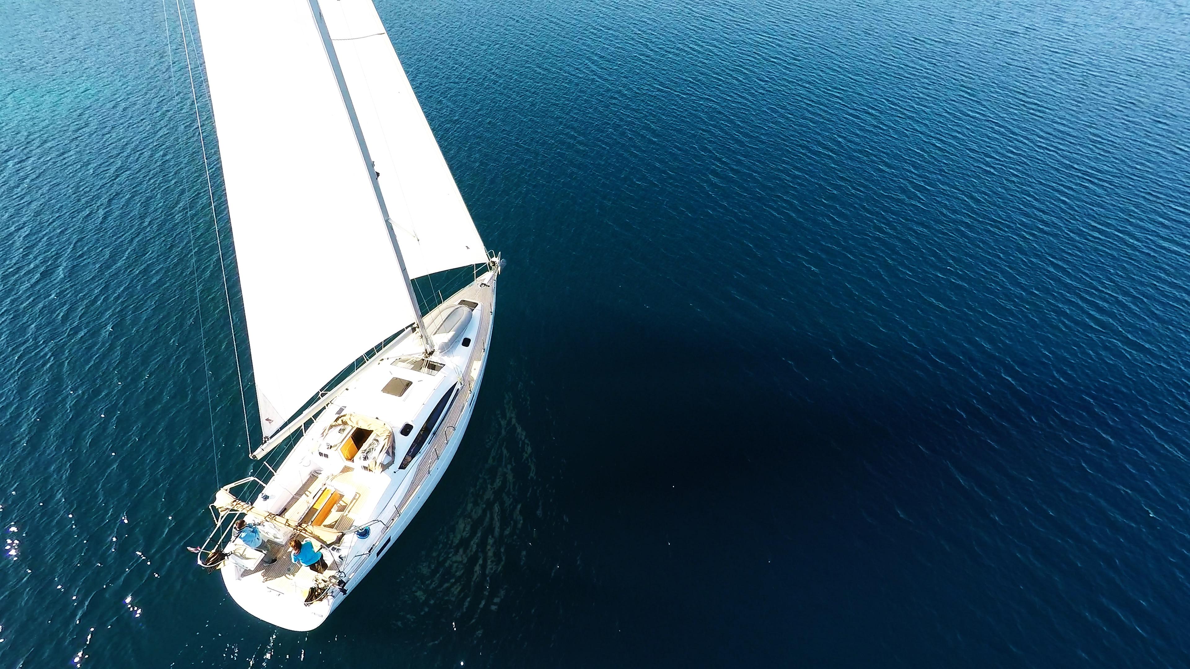bateau à voile elan 45 impression voiles voilier bateau bateau à voile
