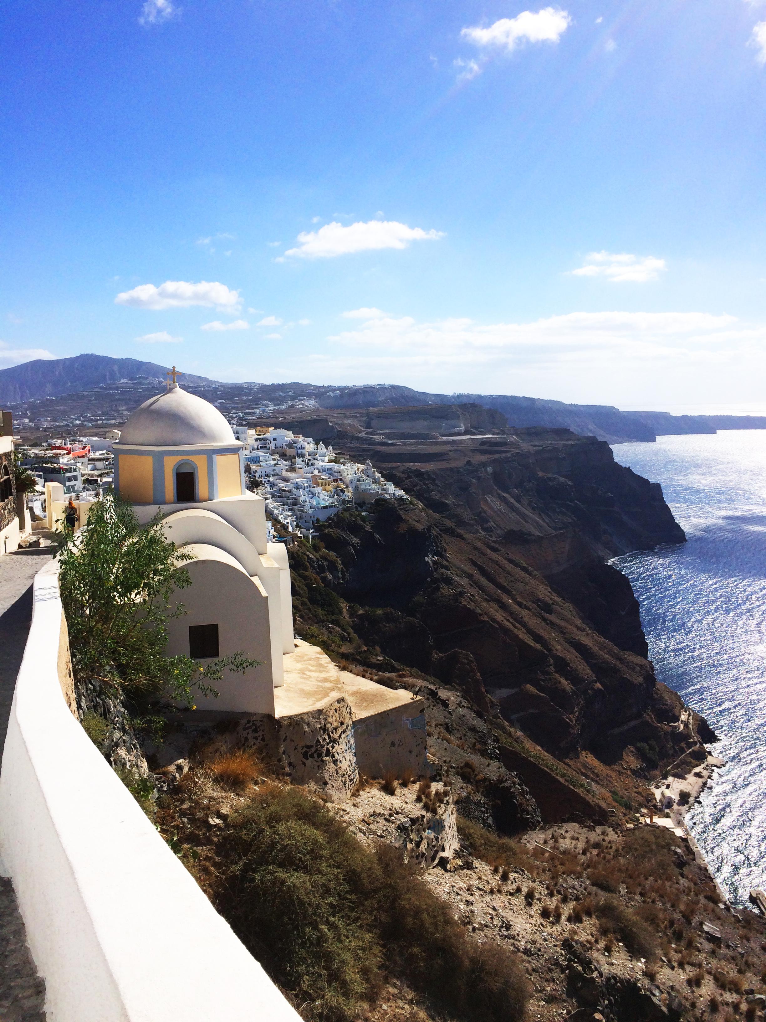 église Santorin Grèce 1