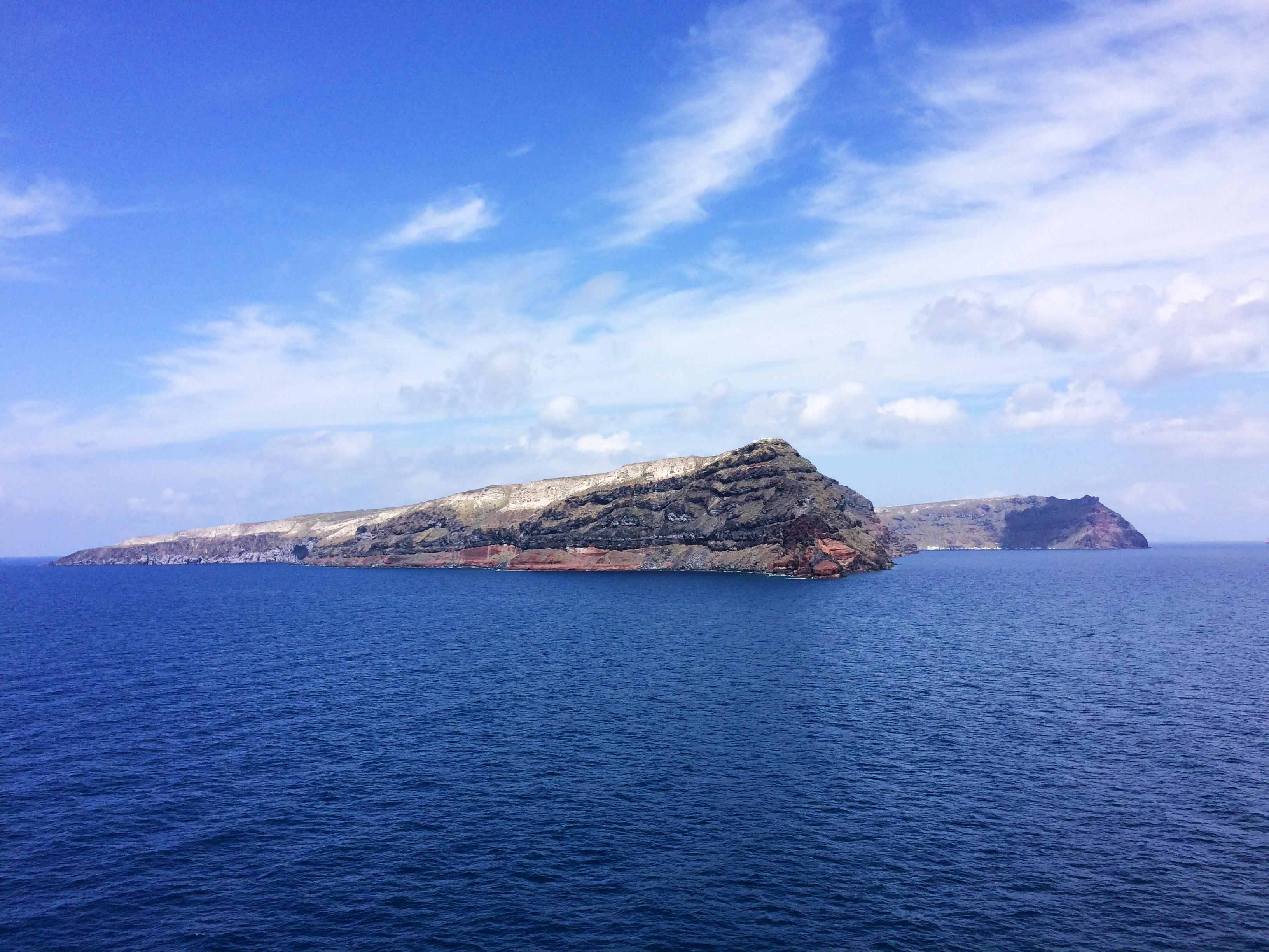 Santorin île Grèce mer